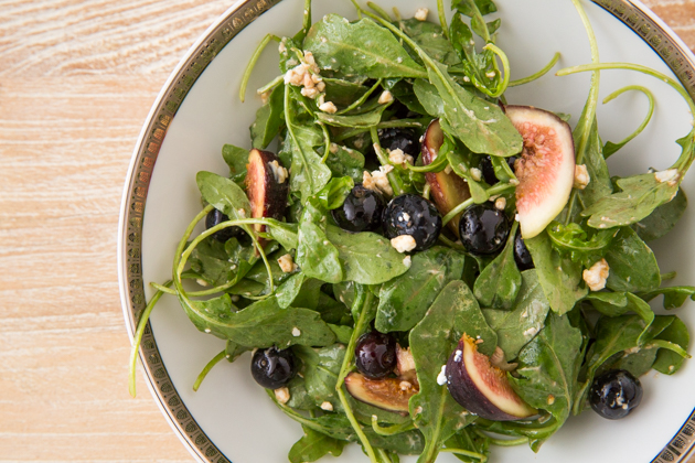 Blueberry, Fig and Goat Cheese Salad - Pretty Little Shoppers Blog