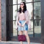 Bomber Jacket and Mini Skirt + Midweek Inspo Linkup