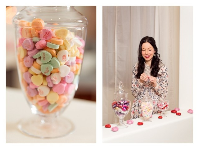 Valentine's Day Candy Buffet - Pretty Little Shoppers Blog