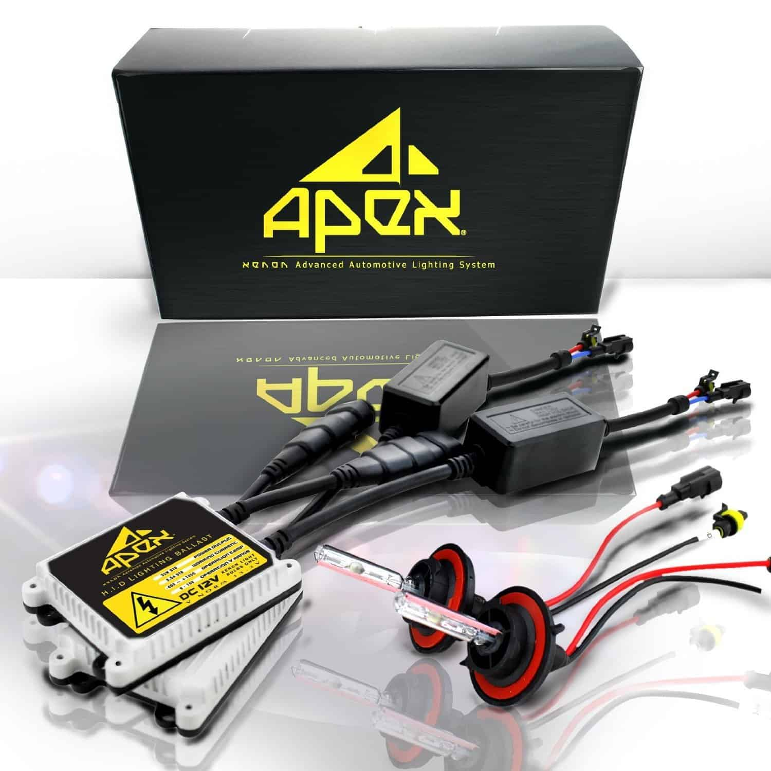 hight resolution of apex hid xenon conversion kit best budget hid kit