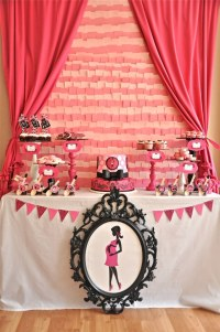 Baby Shower Food Ideas: Baby Shower Ideas Pink And Black