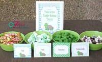 Turtle Themed Baby Shower Ideas - Pretty My Party