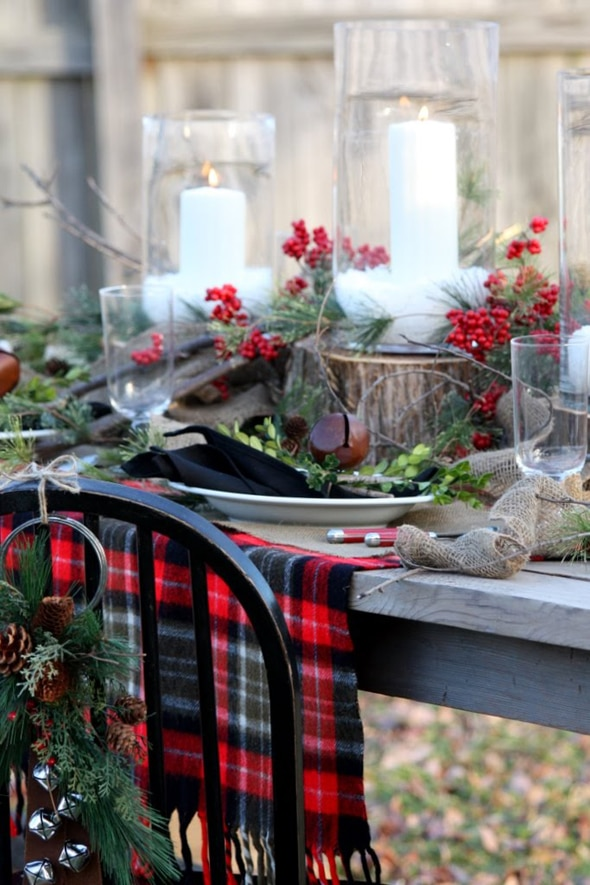 10 Christmas Dinner Table Ideas
