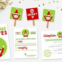 15 Free Elf on the Shelf Printables