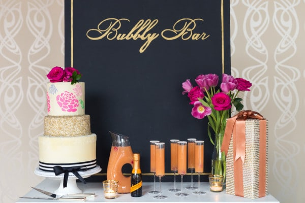 Kate Spade Inspired Bridal Shower Pretty My Party