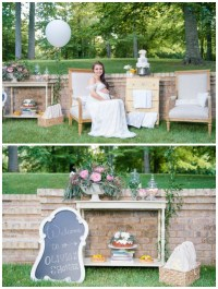 Whimsical Outdoor Baby Shower - Pretty My Party