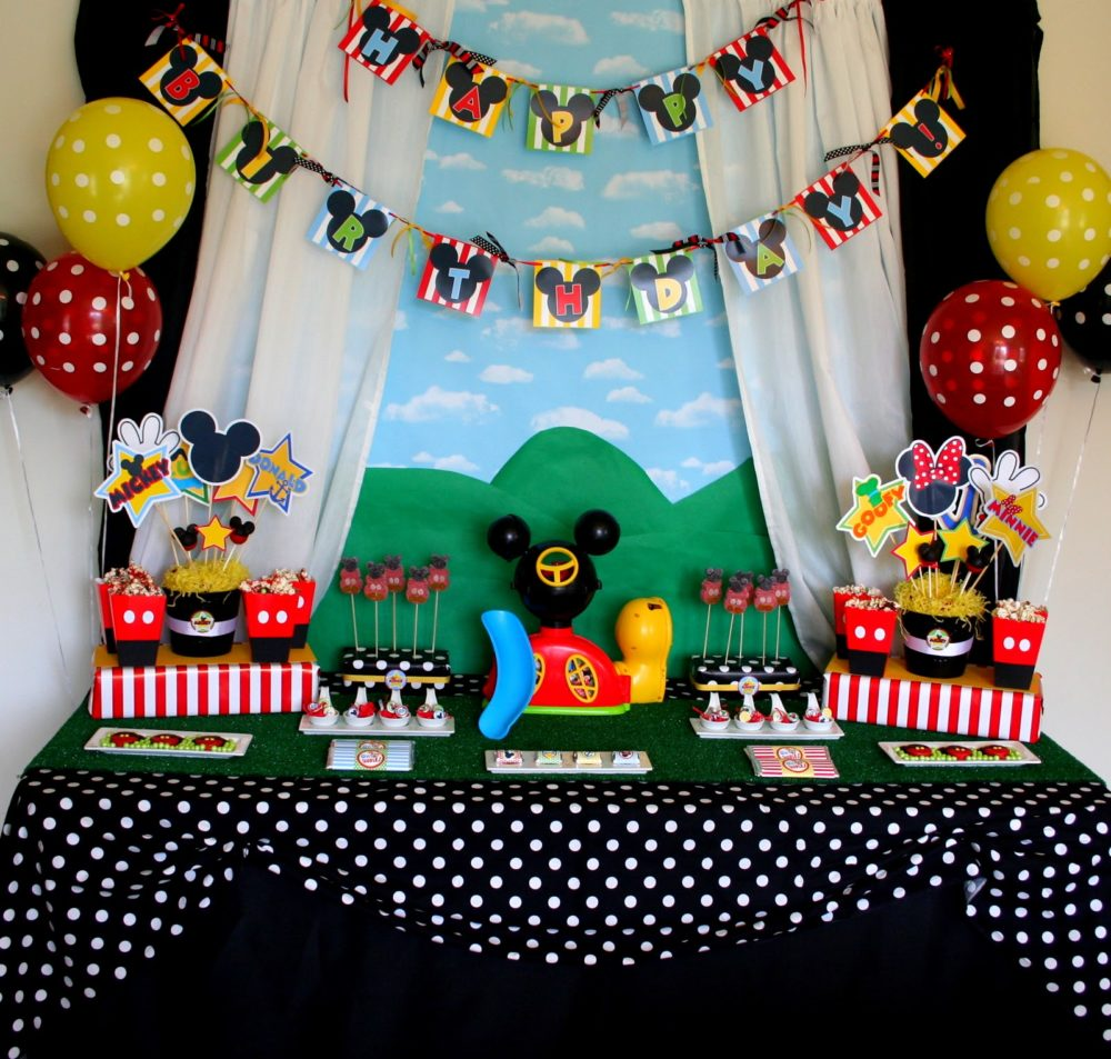 40 mickey mouse party ideas mickey s