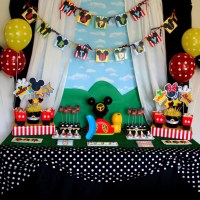 40+ Mickey Mouse Party Ideas