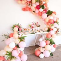 16 Balloon Garland Party Ideas