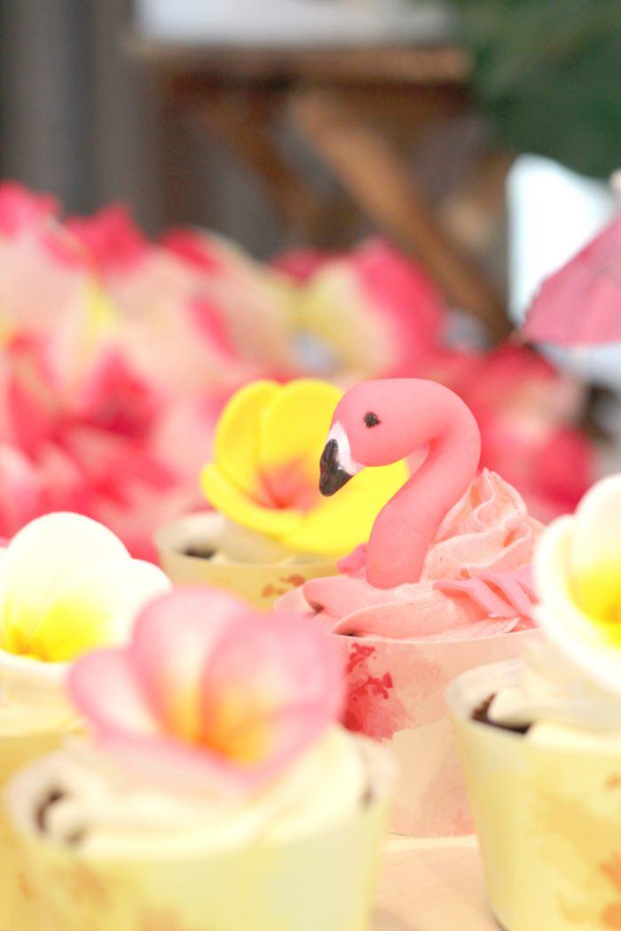 Hawaiian Flamingo Birthday Celebration Pretty My Party