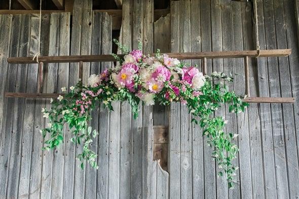 Rustic Barn Wedding Venue Styled Photo Shoot