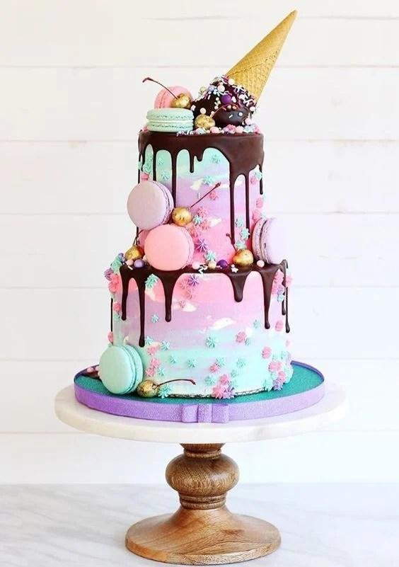 Three Tier Chocolate Cake Recipe