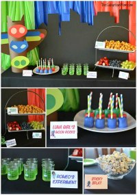 13 Fun PJ Masks Party Ideas - Pretty My Party