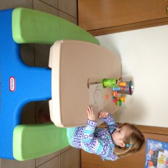 Little Tikes Table And Chairs Set Toys R Us How To Build A Lifeguard Chair Easy Store Picnic For Indoor Outdoor Fun