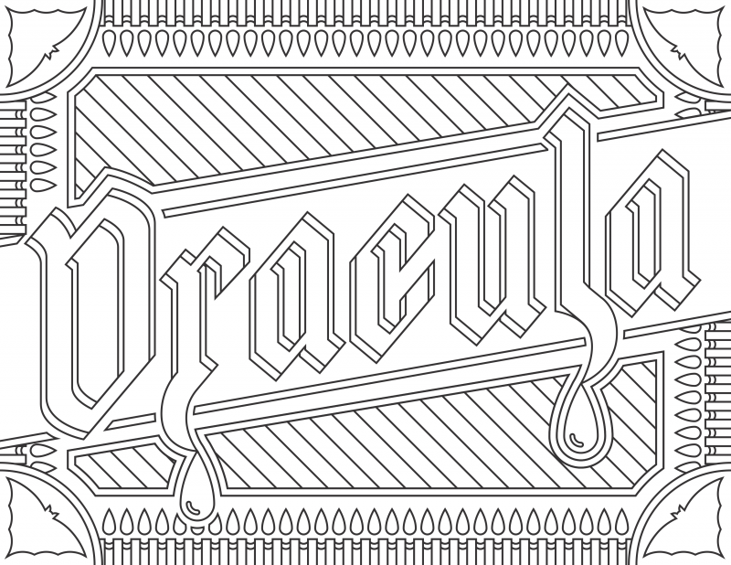6 FREE Printable Adult Coloring Pages Inspired by Literature