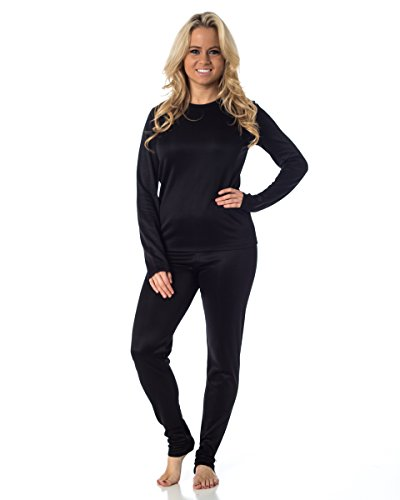 Cuddl Duds Women's Winter Thermal Long underwear base layering set