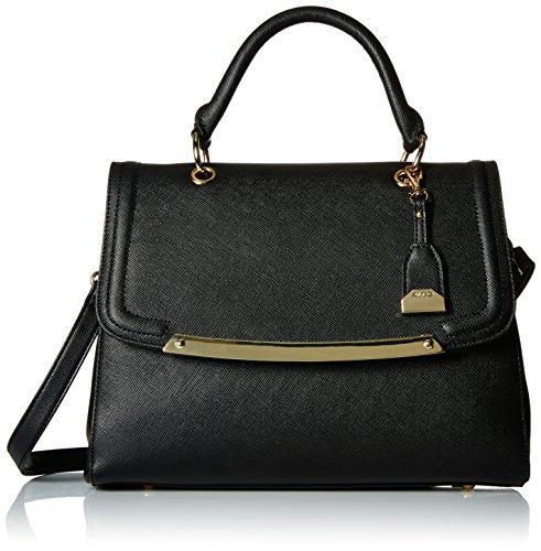 Aldo Orange Top-Handle Satchel Bag