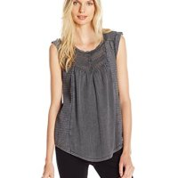 Lucky Brand Women's Washed Knit Top