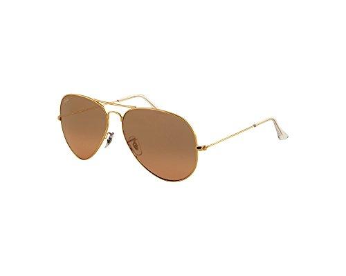 Ray-Ban Original Aviator Sunglasses (RB3025) Gold Shiny/Pink Metal – Non-Polarized – 58mm