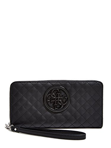 GUESS G-Lux Large Zip Around – black Multi Wallet