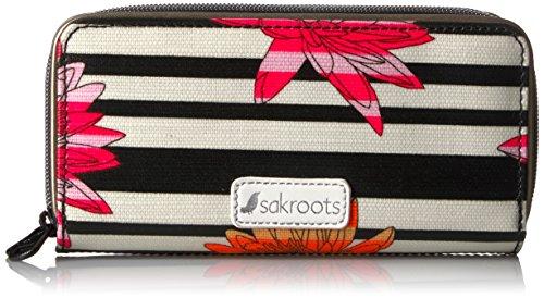 Sakroots Artist Circle Double-Zip Wallet