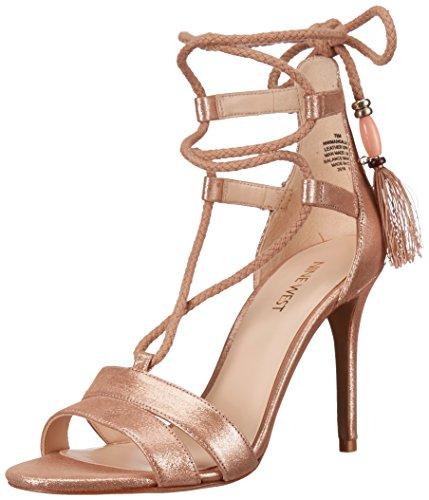 Nine West Women's Mangalara Metallic Dress Sandal