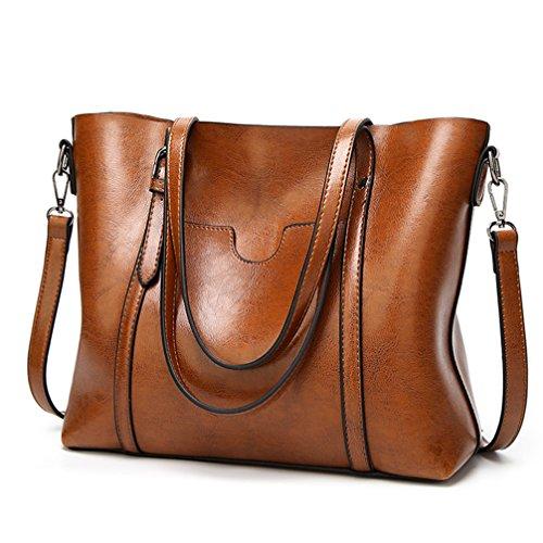 LoZoDo Women Top Handle Satchel Handbags Shoulder Bag Tote Purse ... 64b747c597