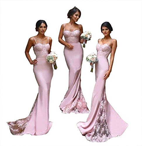 Fashionbride Women's Bridesmaid Dresses Long 2017 Evening Dress Formal GownS Mermaid F279