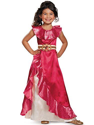 Elena Adventure Dress Classic Elena of Avalor Disney Costume, Small/4-6X