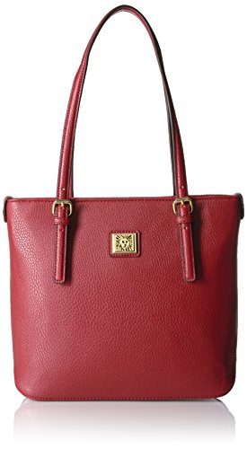 Anne Klein Perfect Tote Small Shopper, Ruby