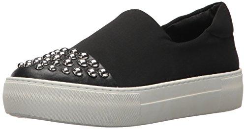 JSlides Women's Aristocrat Fashion Sneaker, Black, 6.5 M US