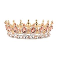 Stuff Crystal Crown Tiaras Prom Party Wedding Bridesmaid Hair Piece with Bobby Pins (Style#15)
