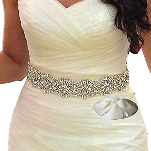 SoarDream Light Ivory Wedding Belt, Bridal Belts And Sashes, Bridal Sash