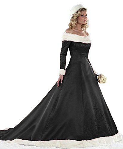 Black Plus Size Bridal Gowns