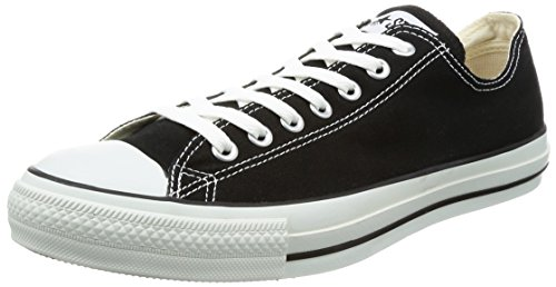 Converse Unisex Chuck Taylor All Star Low Top Sneaker (6.5 D(M) US, Black)