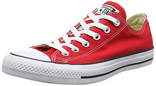 All Star Chuck Taylor Lo Top (6 D(M) US, Red)