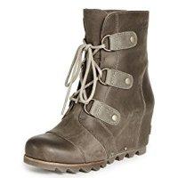 Sorel Women's Joan of Arctic Wedge Boots, Kettle, 8 B(M) US
