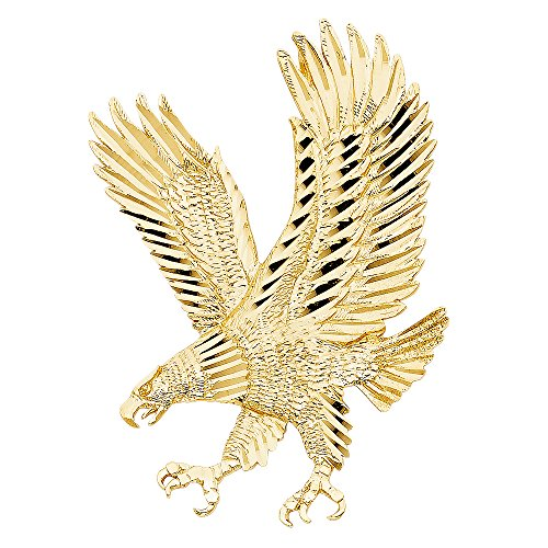 14k yellow gold eagle pendant pretty outfits 14k yellow gold eagle pendant aloadofball Gallery
