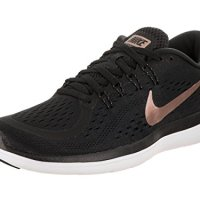Nike Women's Flex 2017 RN Black/Mtlc/Red/Bronze Running Shoe 6.5 Women US