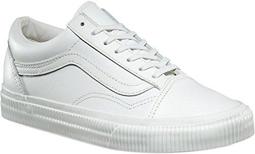 Vans Old Skool Shoes UK 4 Embossed Sidewall Blanc de Blanc