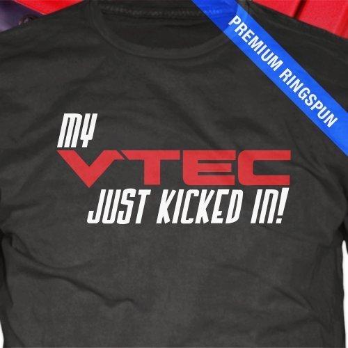 Honda VTec TShirt Car Racing Vtec Turbo Gear Head Gift Mens - Acura clothing