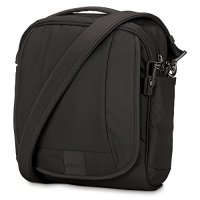 Pacsafe Metrosafe LS200 Anti-Theft Shoulder Bag, Black