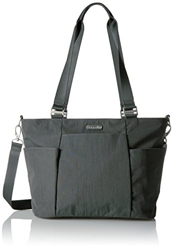 Baggallini Medium Avenue Tote, Charcoal