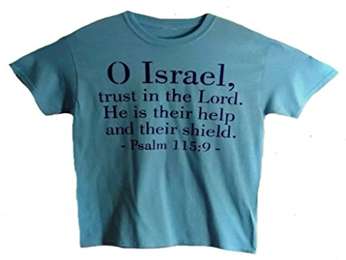 Christian T-shirt/Bible Verse/Religious T-shirt for Men and Women/Religious Gift/Jesus Gift/Pastor Gift/Church Gift (O Israel, trust in the Lord)