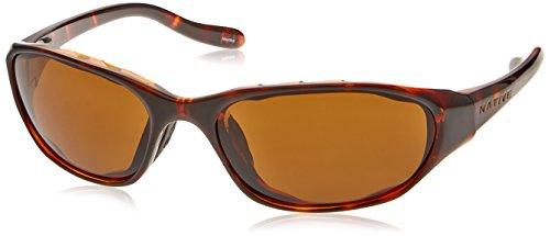 Native Eyewear Throttle Sunglasses, Maple Tort with Brown Lens