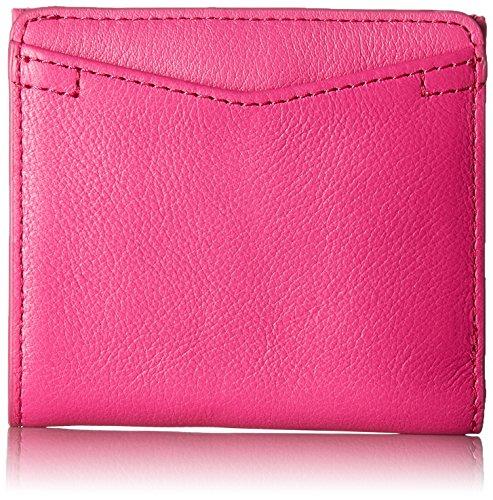 Fossil Women's Caroline RFID Mini Wallet, Hot Pink, One Size