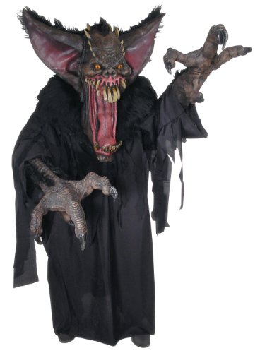 Gruesome Bat Creature Reacher Deluxe Oversized Mask and Costume