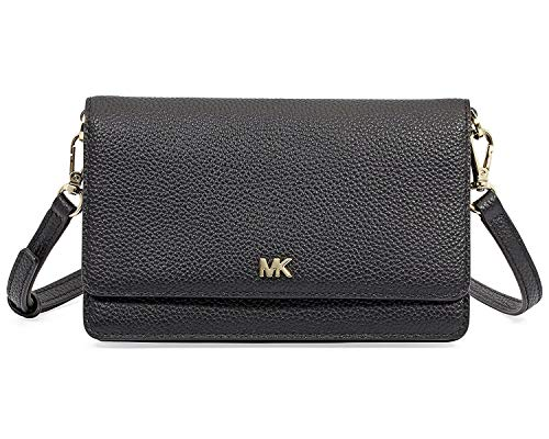 Michael Kors Smartphone Crossbody- Black