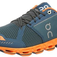 On Running Men's Cloudflyer Stability Shoe Storm/Flash Size 9.5