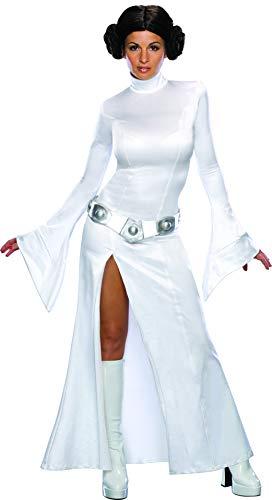 Secret Wishes Women's Sexy Princess Leia Costume, White, S (4/6)